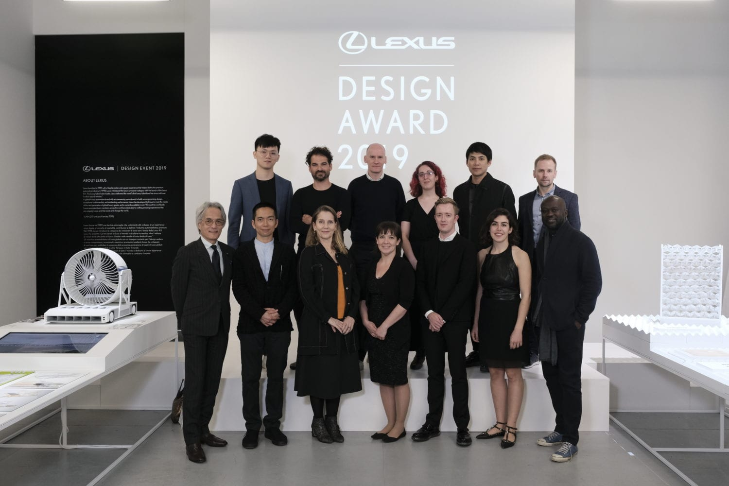 Lexus Design Award 2019 Group Shot Yellowtrace 01