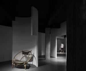 Dreams-Chasing Furniture Showroom in Guangdong, China by AD ARCHITECTURE | Yellowtrace