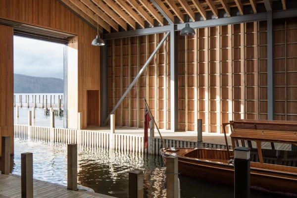 Windermere Jetty Museum in England by Carmody Groarke | Yellowtrace