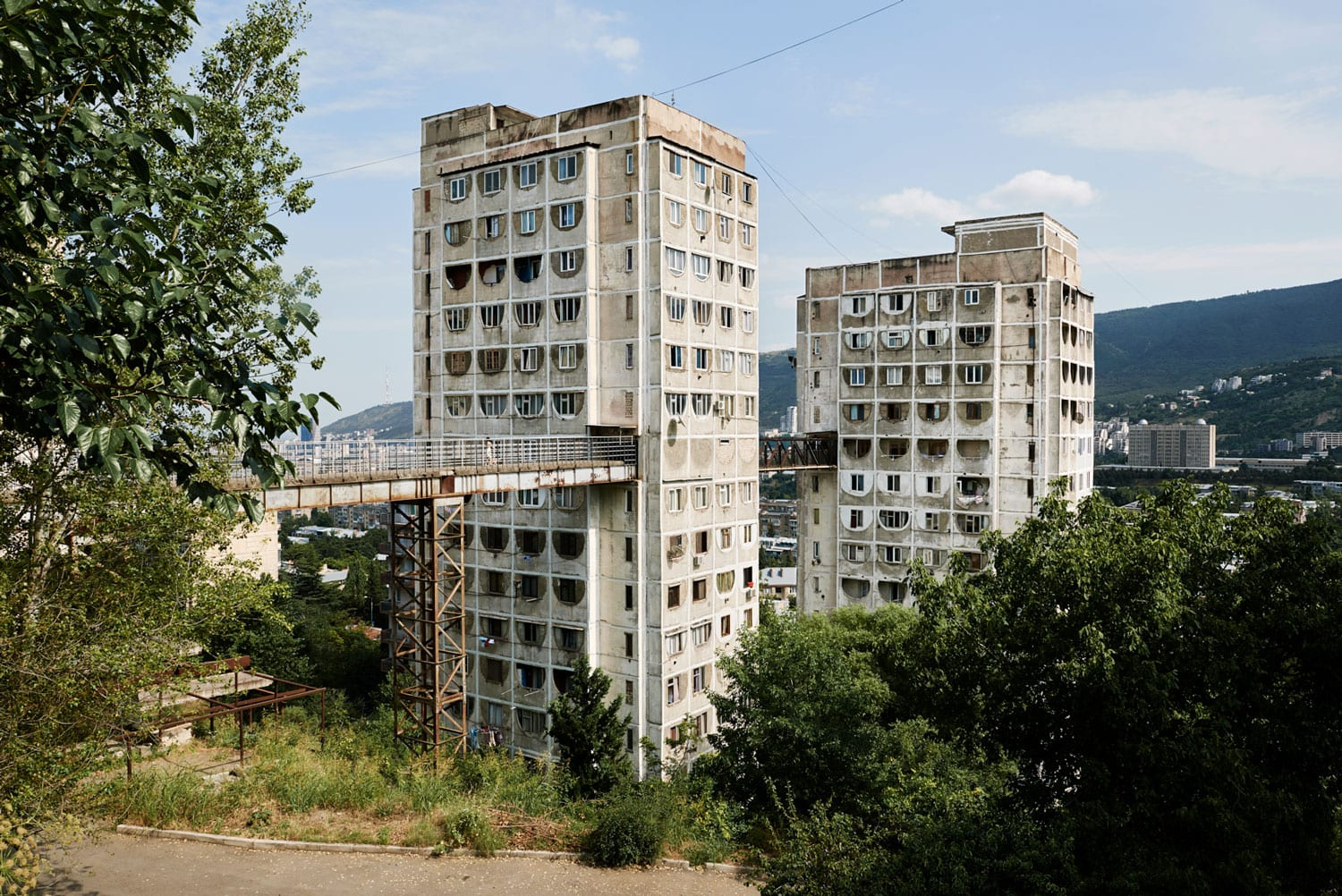 Alex Schoelcher Captures Soviet-era Nutsubidze Plato 1 Apartment Complex and it's Residents in Tbilisi, Georgia | Yellowtrace
