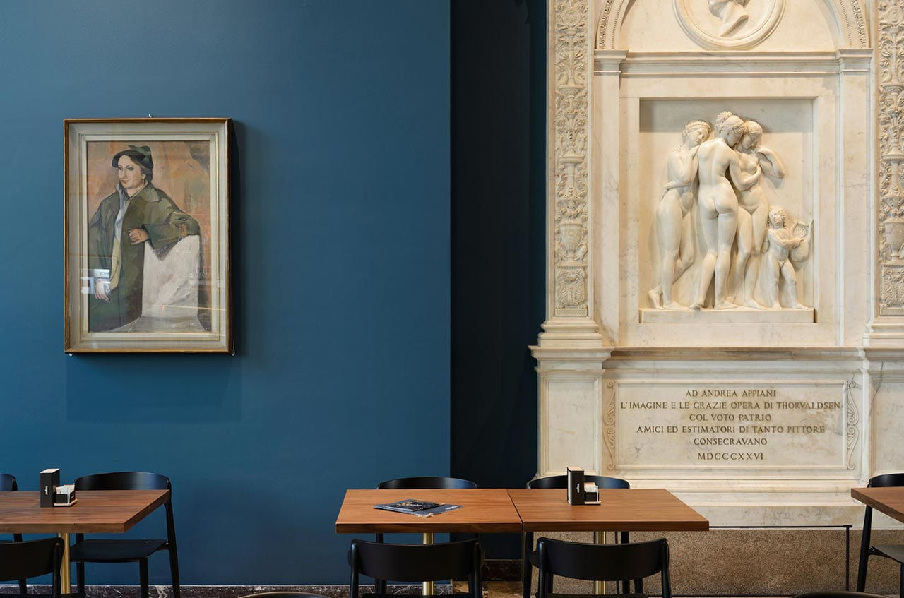 Caffe Fernanda inside Milan Pinacoteca di Brera | Yellowtrace