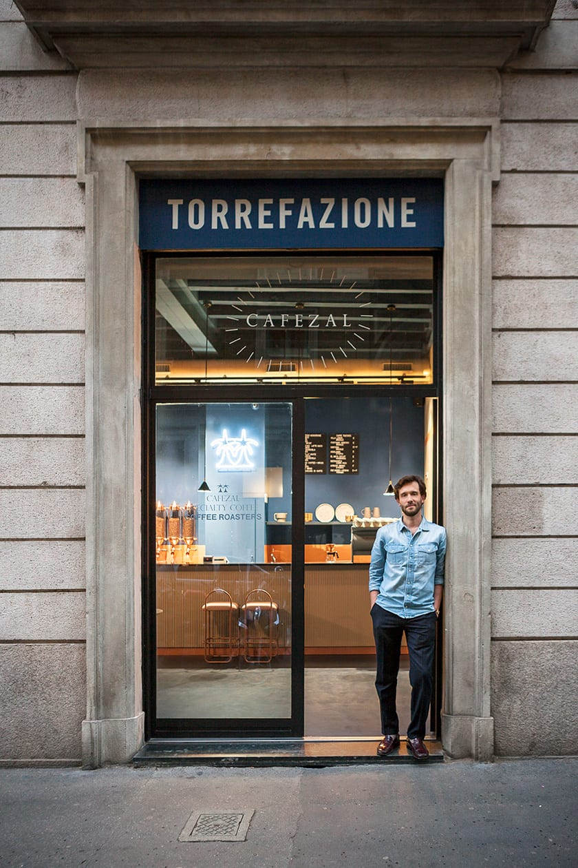 Cafezal Cafe Milan by Studiopepe | Yellowtrace
