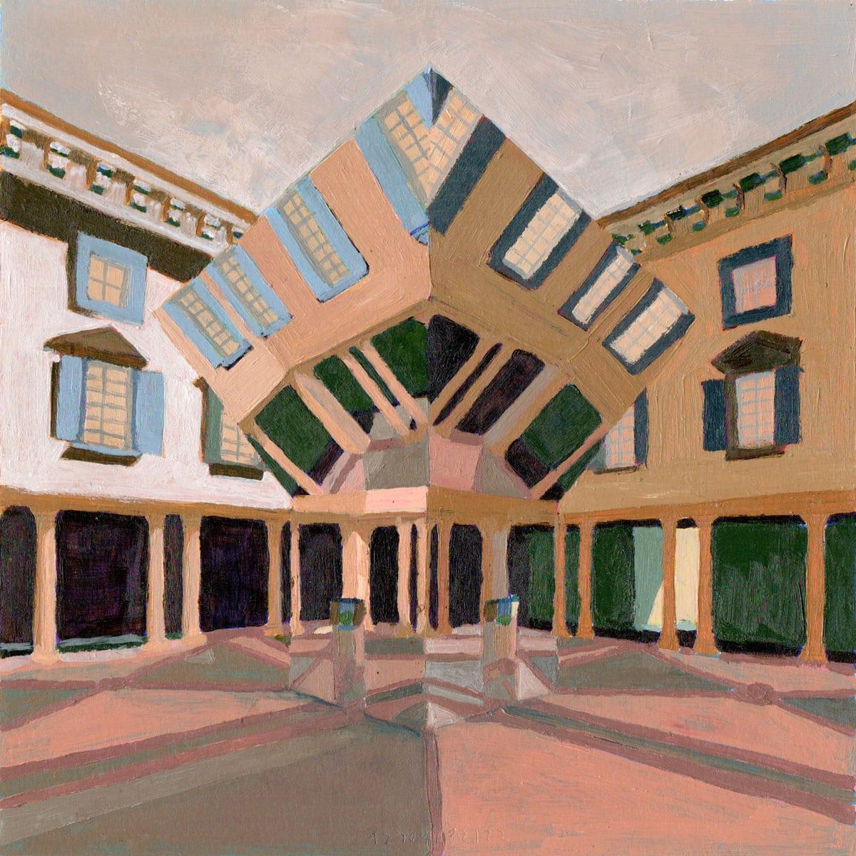Echo Courtyard Installation by Chilean architects Pezo von Ellrichshausen | Yellowtrace
