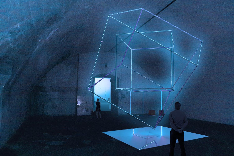 Ventura Centrale: Aria Come to Light by Luca Moreni & Roberto De Zorzi, Milan Design Week 2019. Photo by Ivela Spa | Yellowtrace