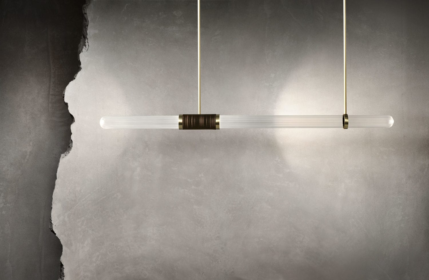 Stone Slab Light by Articolo, Milan Design Week 2019 | Yellowtrace