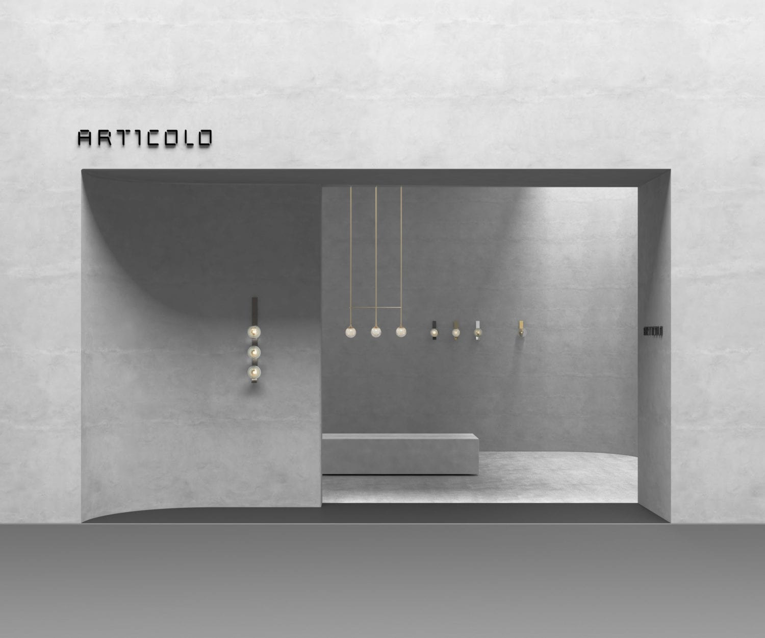 Articolo's Euroluce Stand at Milan Design Week 2019 | Yellowtrace