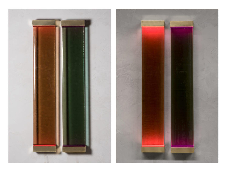 Draga & Aurel Transparency Matters Agatha Tables, Milan Design Week 2019 | Yellowtrace