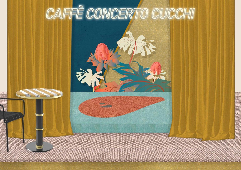 Caffè Concerto Cucchi by Cristina Celestino, Milan Design Week 2019 | Yellowtrace