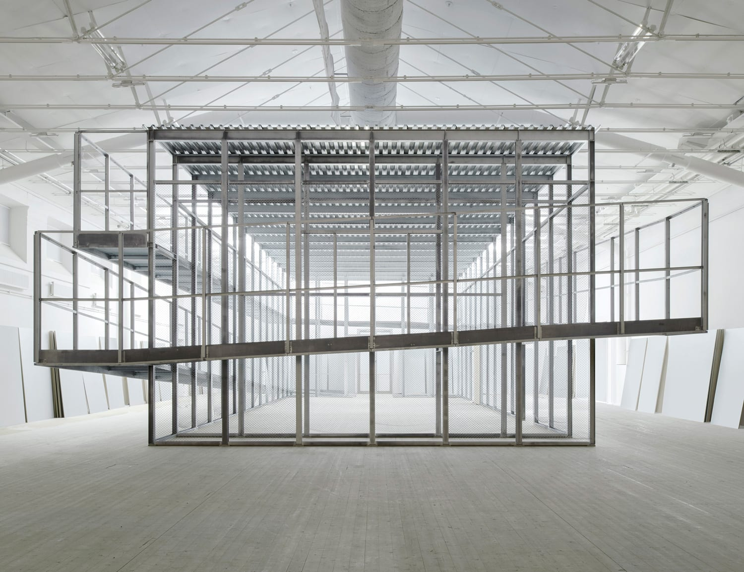 Boxen, New Gallery Space at ArkDes in Stockholm by Dehlin Brattgård Arkitekter | Yellowtrace