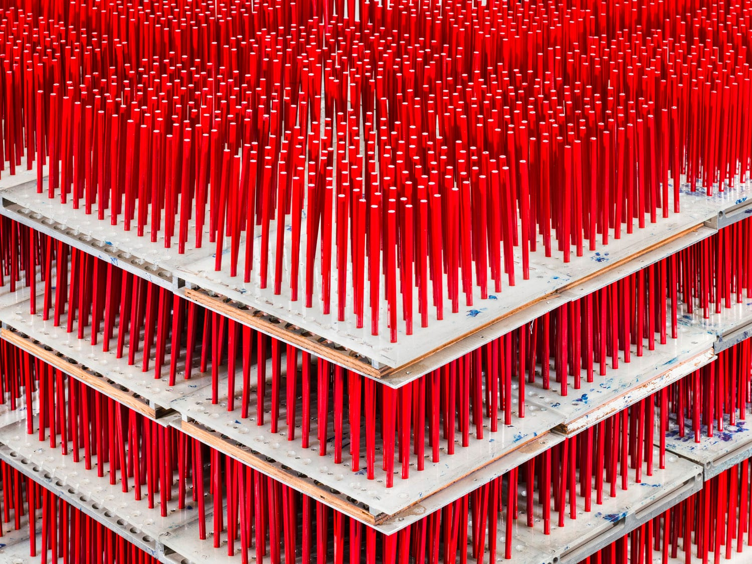 Christopher Payne Photographs the Production Line of One of America's Last Pencil Factories   Yellowtrace