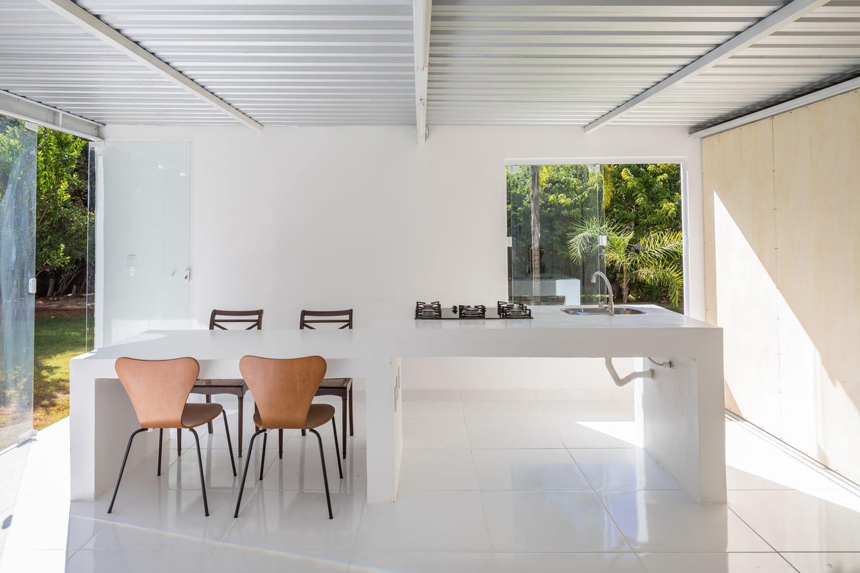 Compact, Budget Friendly Home in Brasilia, Brazil by Daher Jardim Arquitetura | Yellowtrace