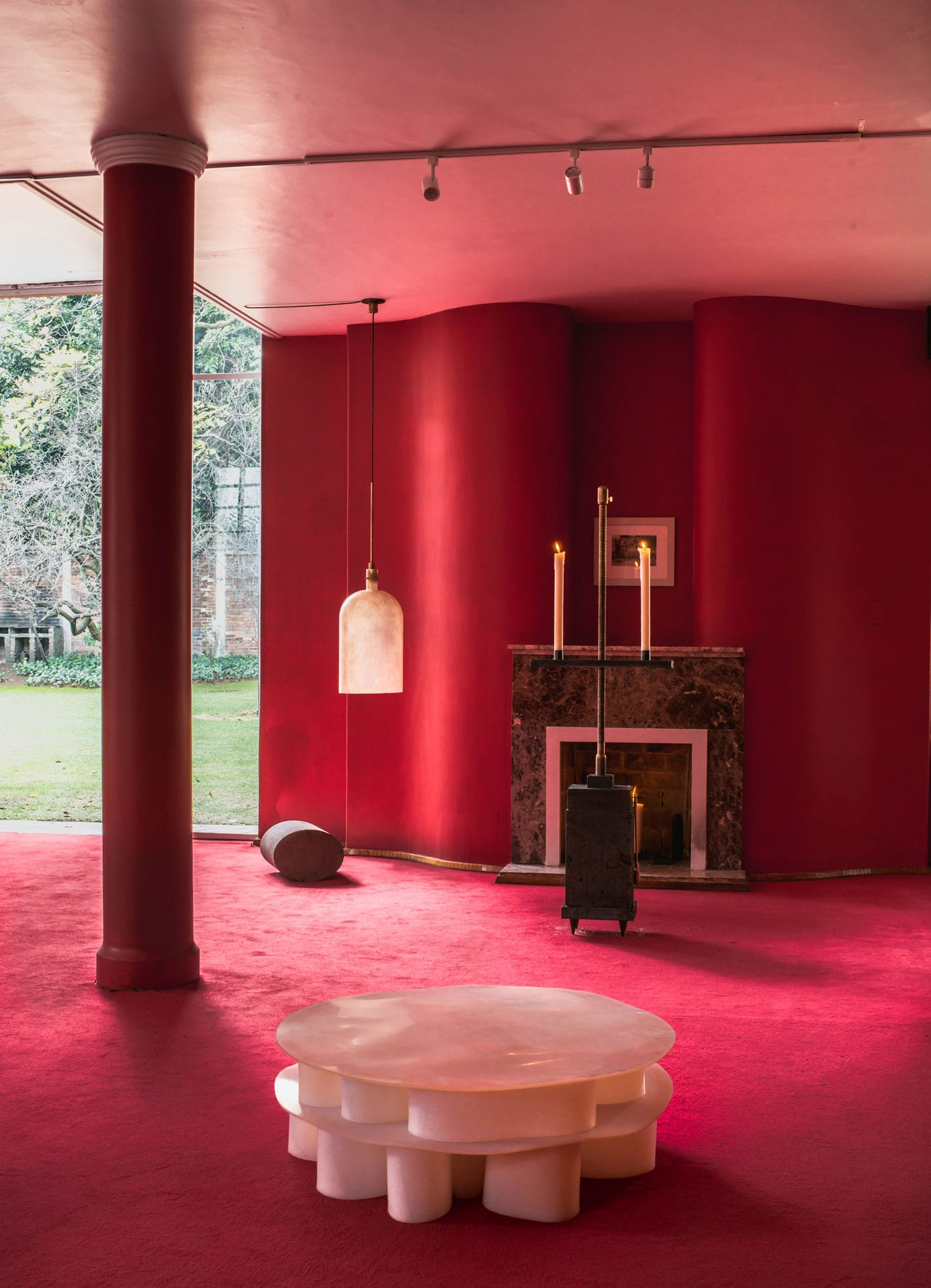 Masa Design Gallery Launches Inside An Abandoned 1970s Mansion in Mexico City | Yellowtrace