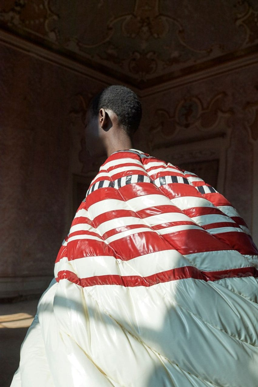 Puffer Gowns by Pierpaolo Piccioli for Moncler | Yellowtrace