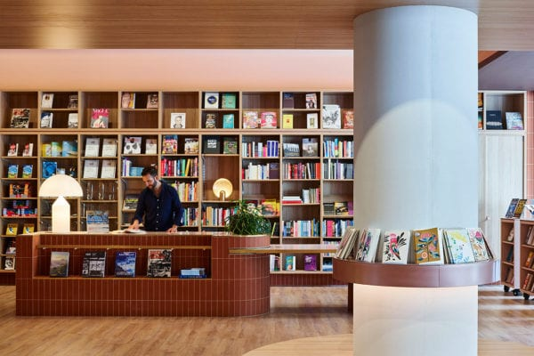 The University of NSW Bookshop, Sydney by SJB | Yellowtrace