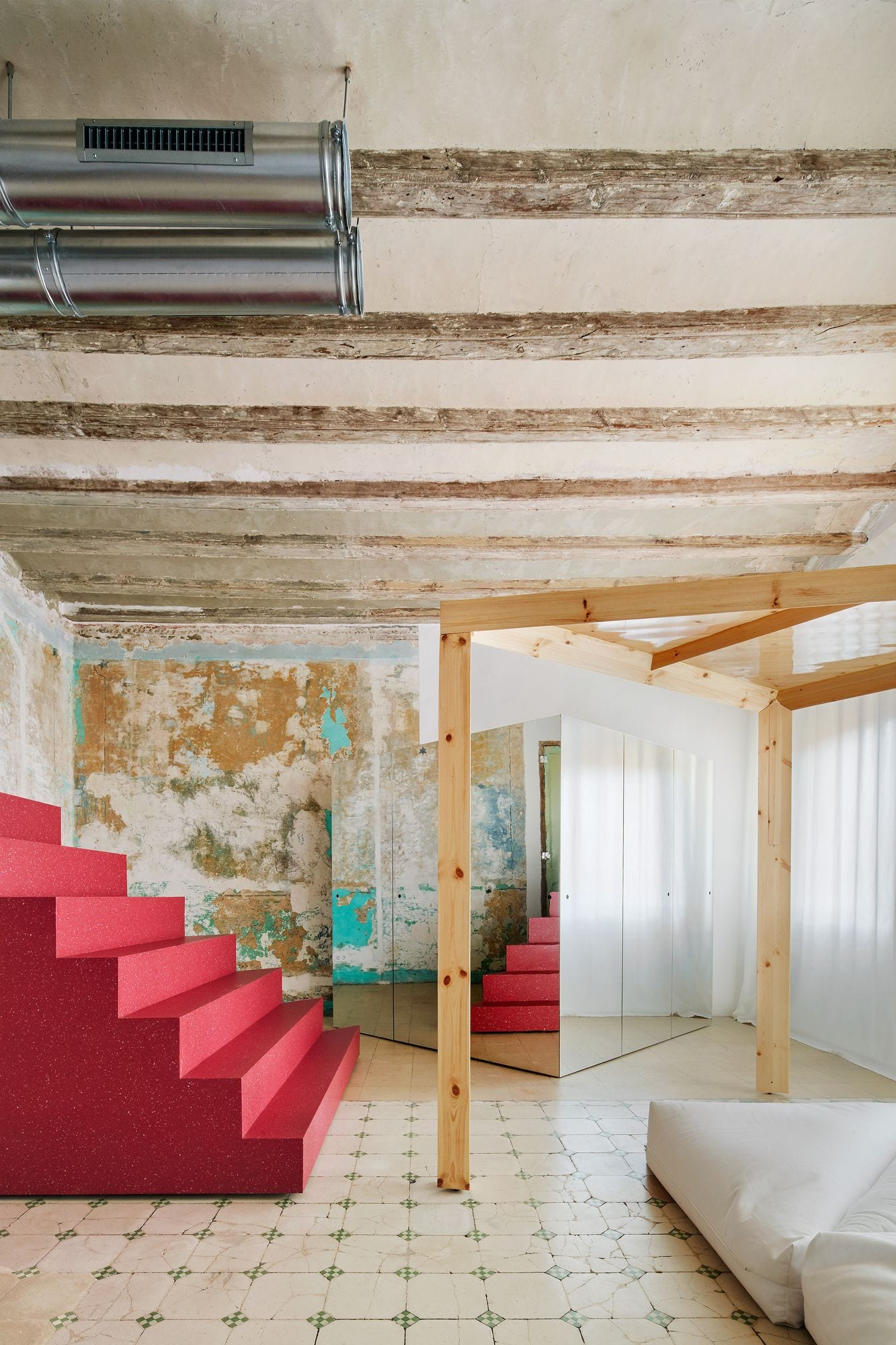 Transforming Room For Child Inside Barcelona Apartment By P M A A Yellowtrace 04