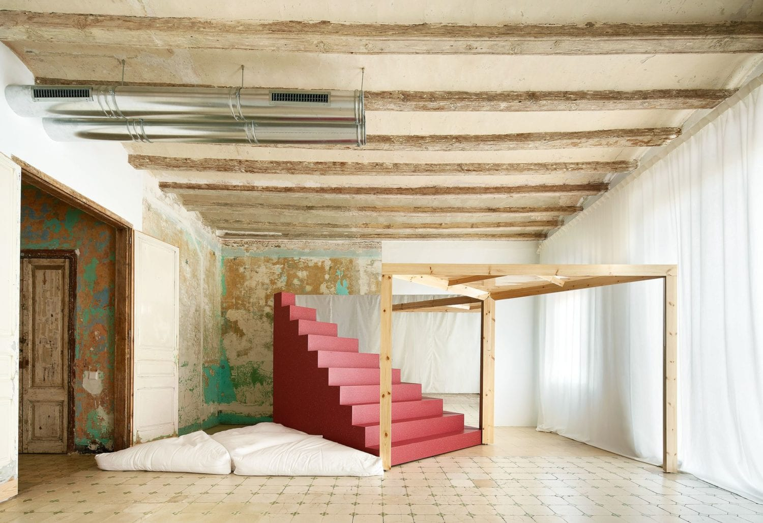 Transforming Room For Child Inside Barcelona Apartment By P M A A Yellowtrace 08