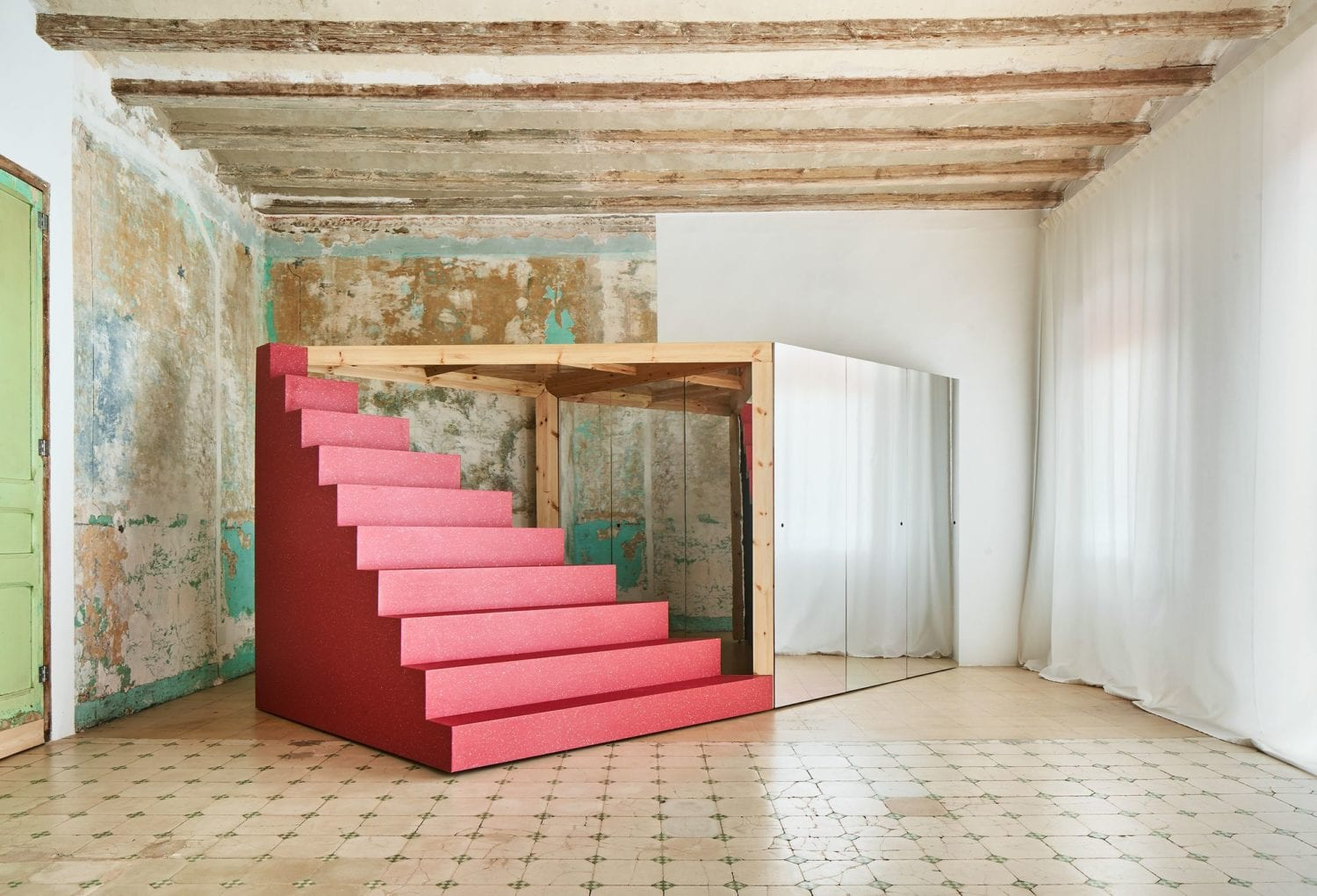 Transforming Room For Child Inside Barcelona Apartment By P M A A Yellowtrace 05