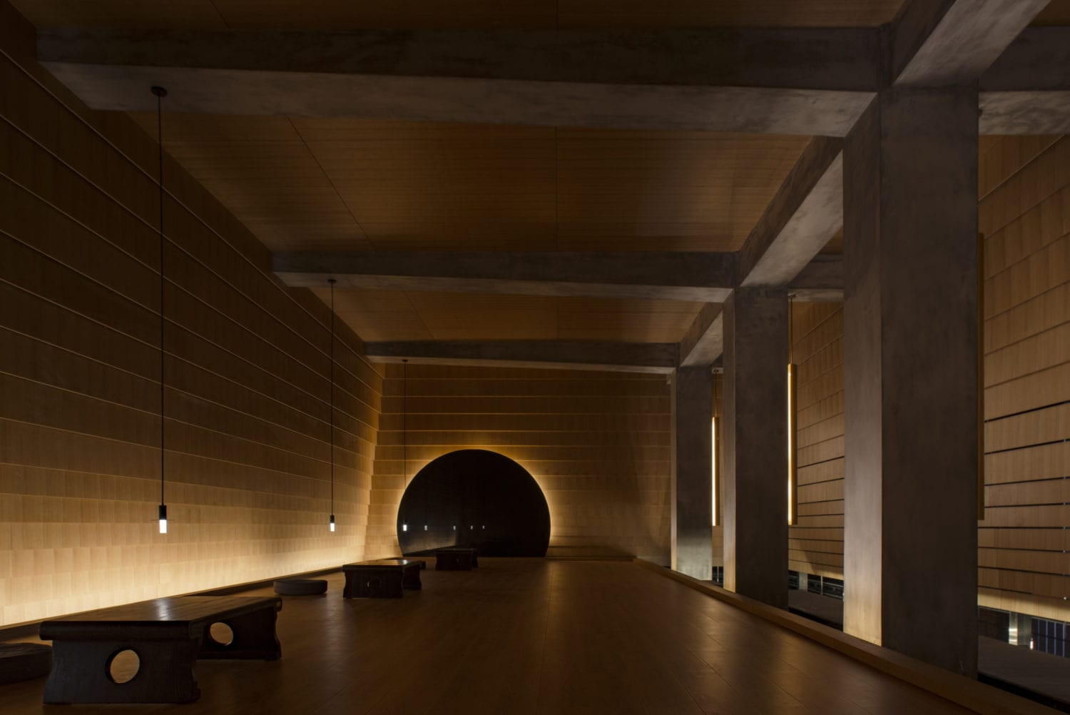 Meditation Hall In Huanghua China By Hil Architects | Yellowtrace