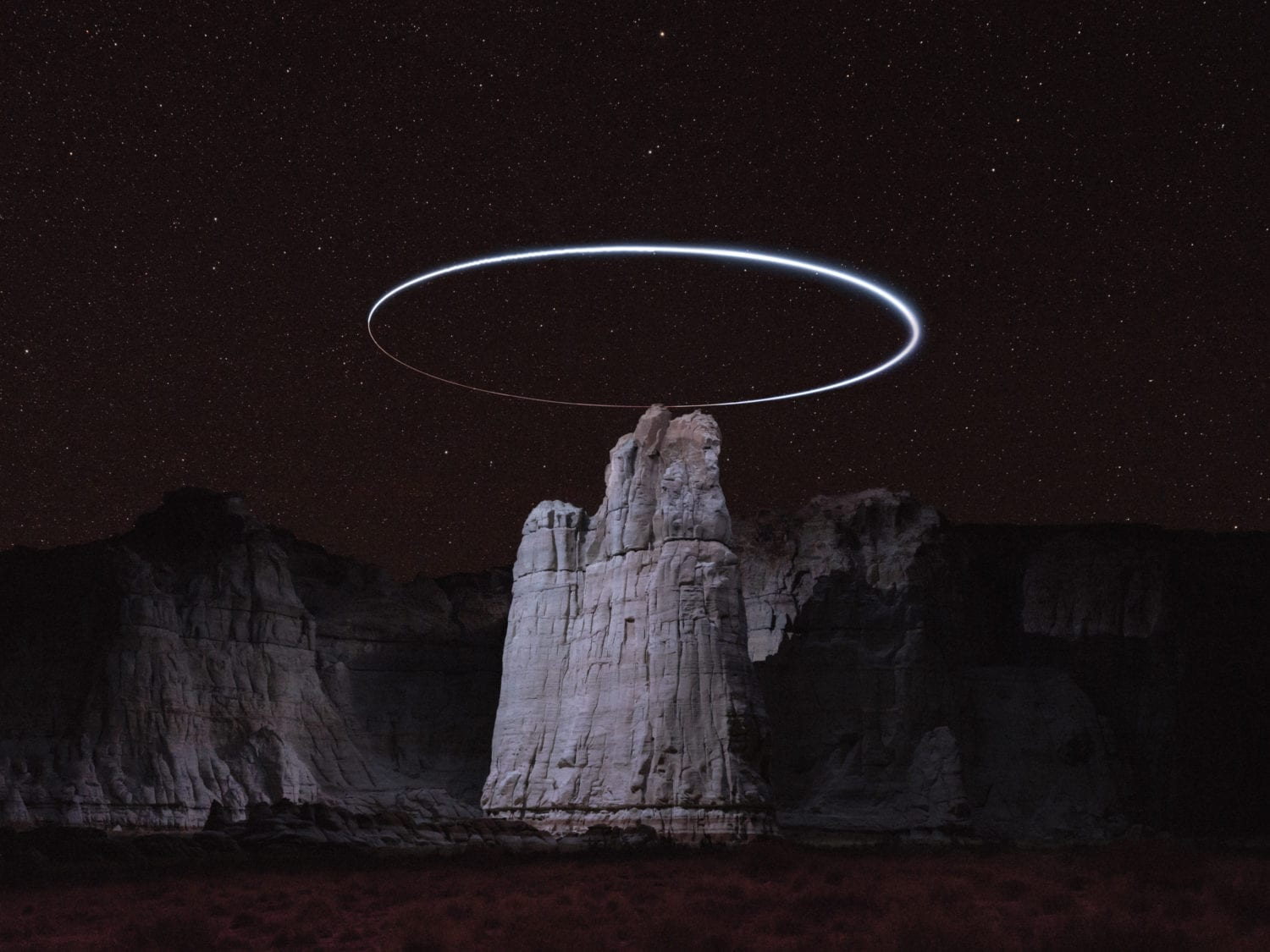 Reuben Wu Captures Light Paths With Drones Above Natural Landscapes Yellowtrace 21
