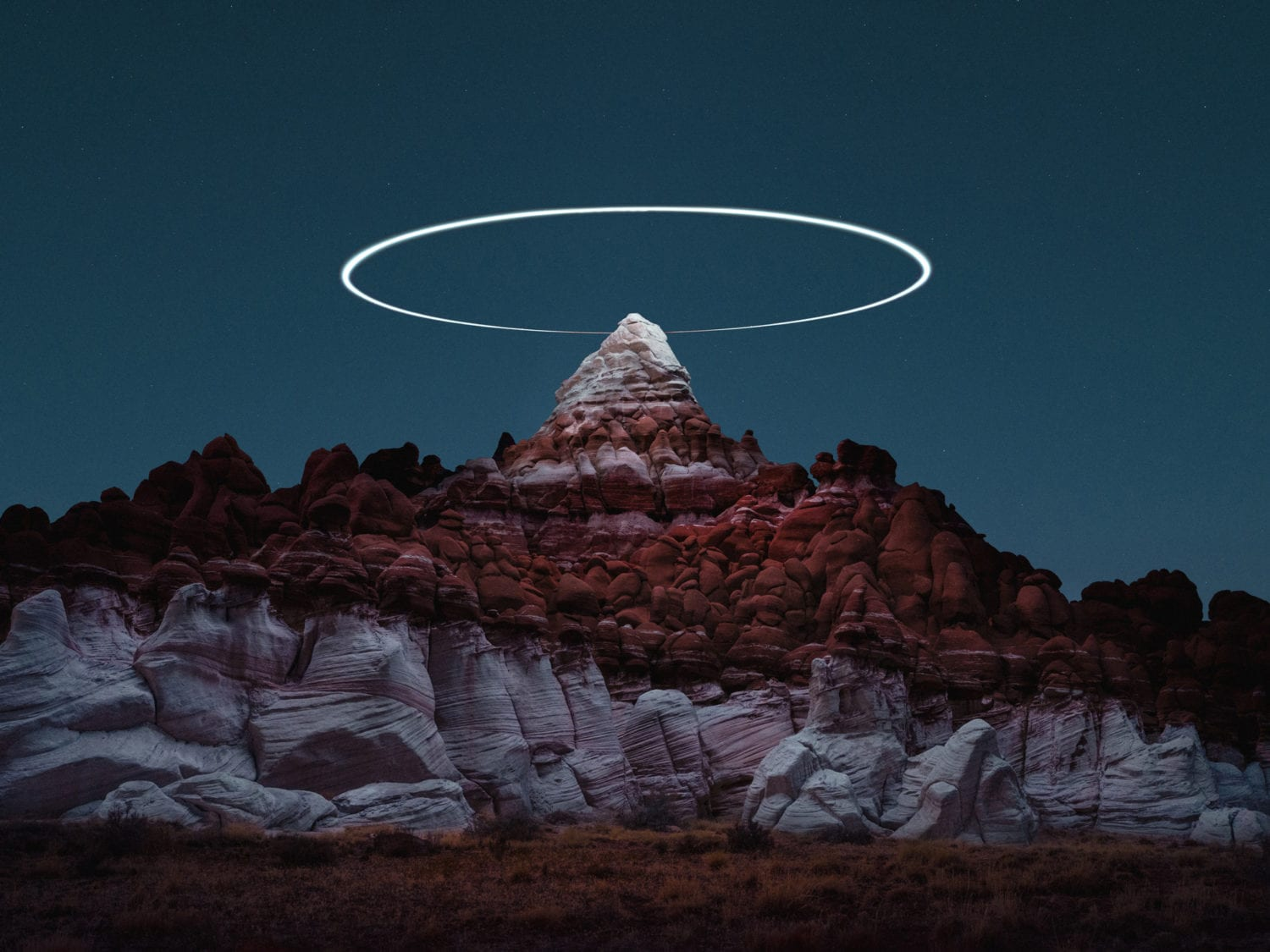 Reuben Wu Captures Light Paths With Drones Above Natural Landscapes Yellowtrace 22