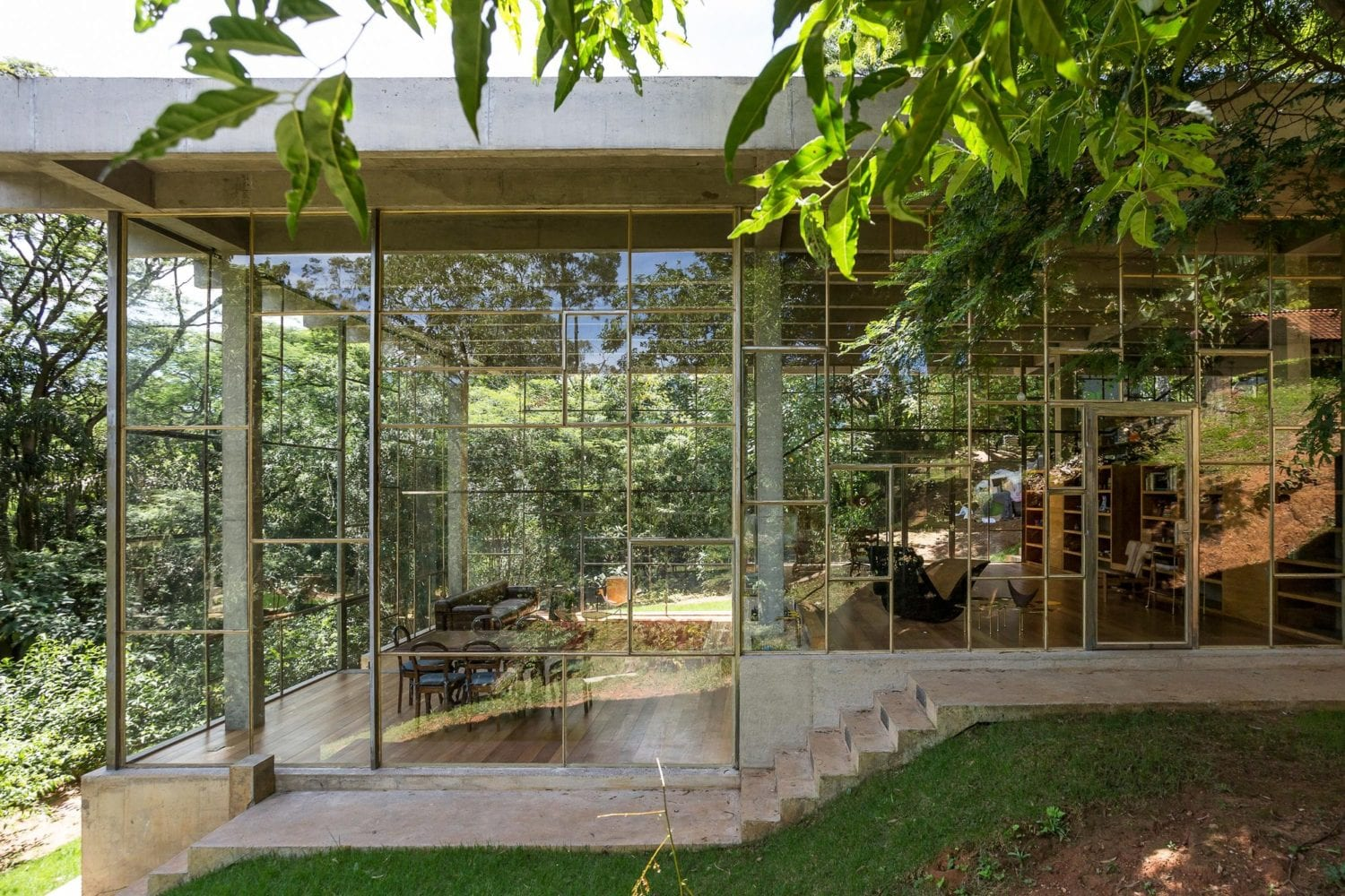 Library House Casa Biblioteca Brazil By Atelier Branco Yellowtrace 01