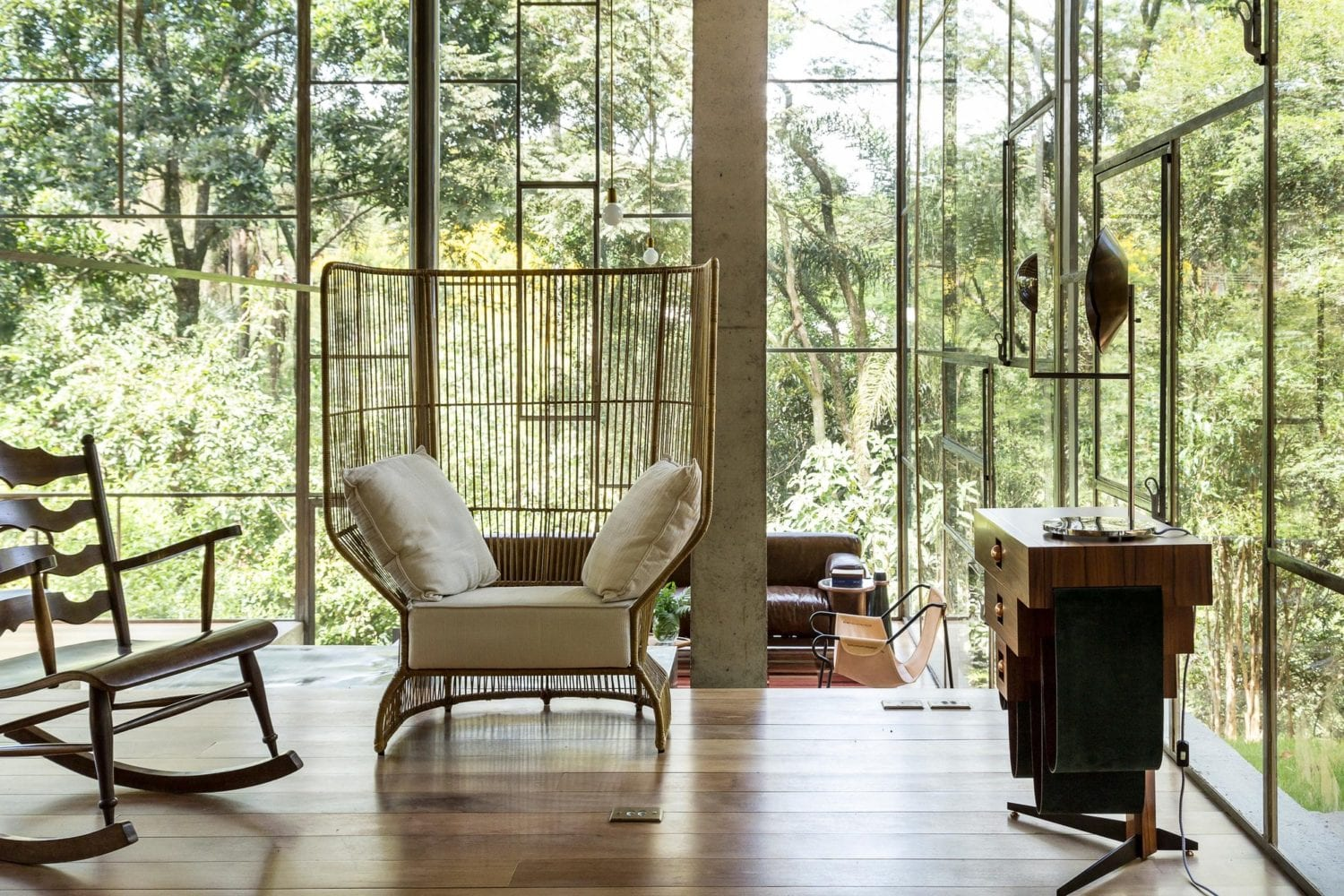 Library House Casa Biblioteca Brazil By Atelier Branco Yellowtrace 07