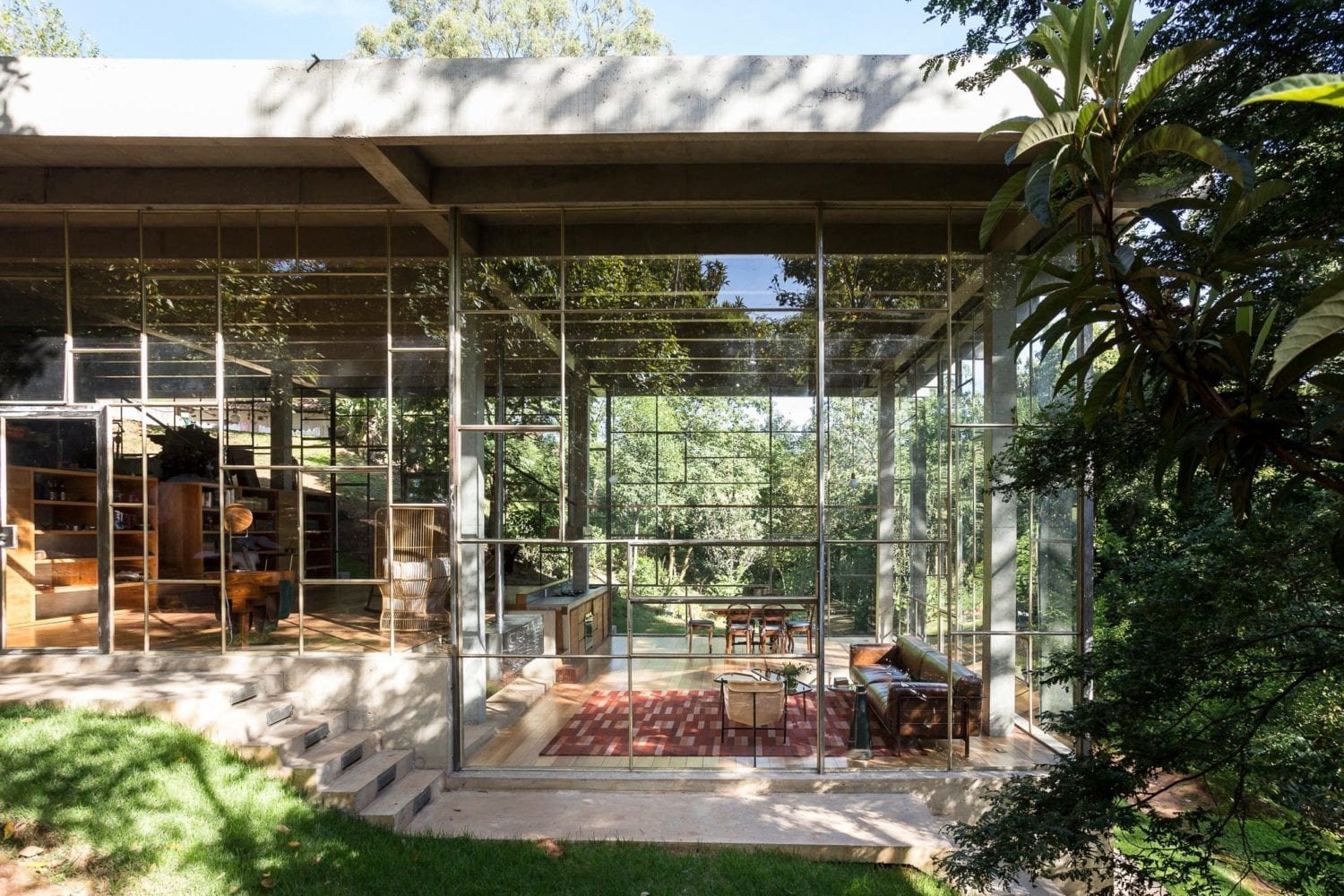 Library House Casa Biblioteca Brazil By Atelier Branco | Yellowtrace