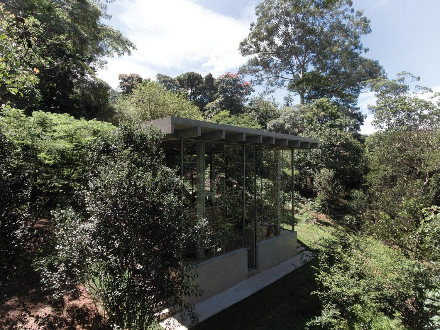 Library House Casa Biblioteca Brazil By Atelier Branco Yellowtrace 13