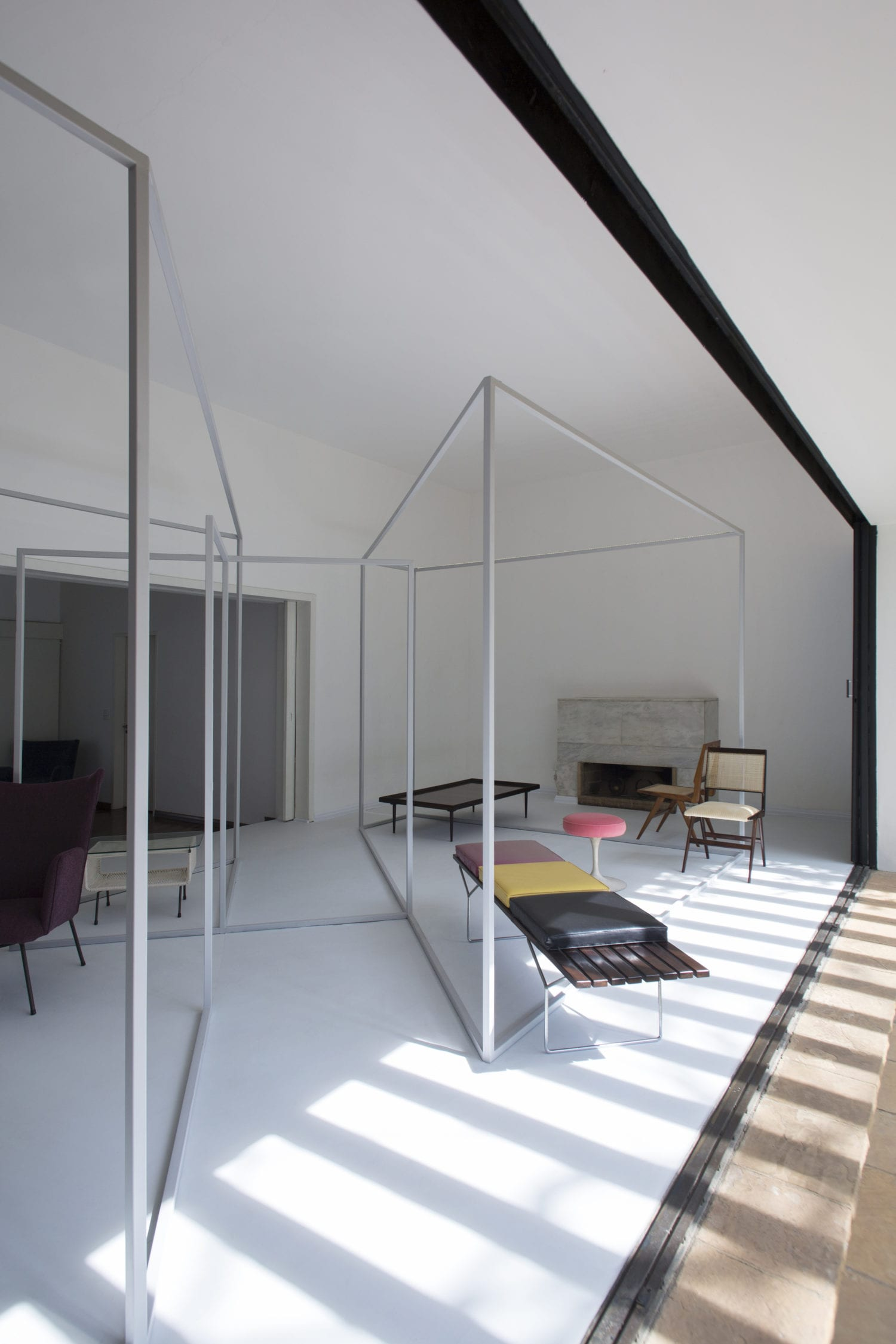 Apartment 61 Home Gallery In Sao Paulo Brazil By Mnma Studio Yellowtrace 01