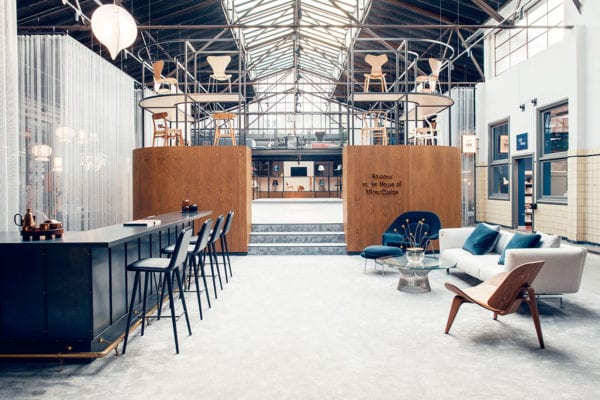 Mister Design Showroom In Den Bosch The Netherlands By Studio 34 South Yellowtrace