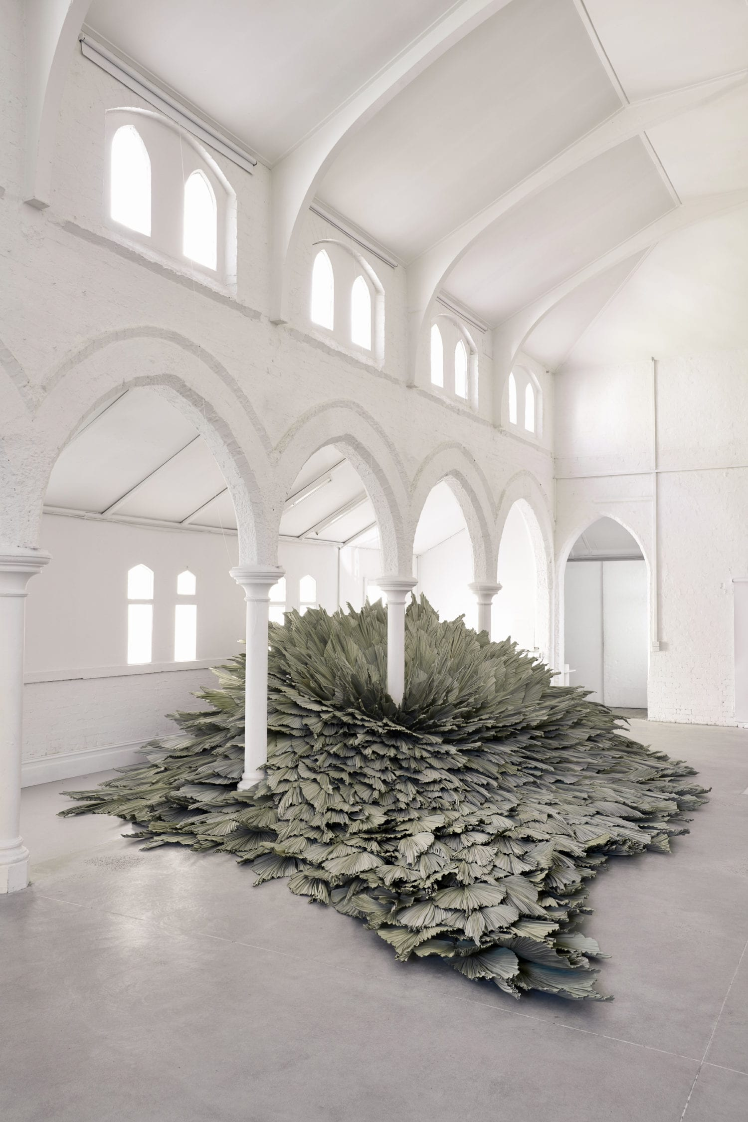 Proximity Botanical Installation by Wona Bae & Charlie Lawler of Loose Leaf | Yellowtrace