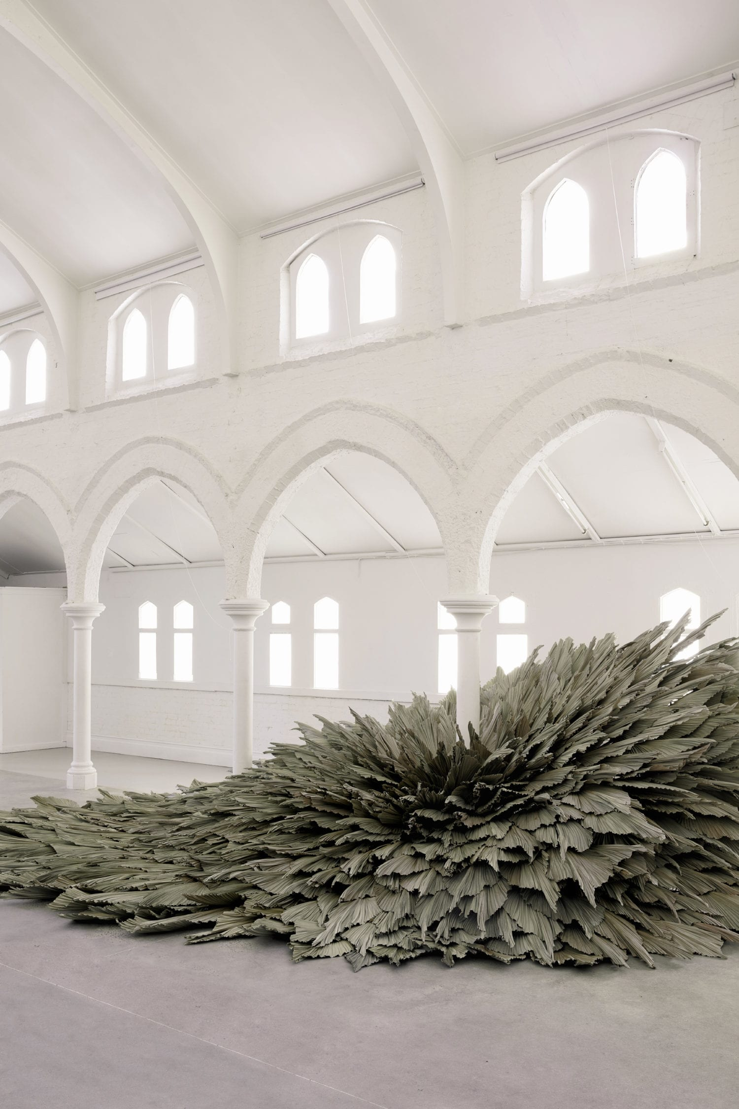 Proximity Botanical Installation By Wona Bae And Charlie Lawler Of Loose Leaf Yellowtrace 04