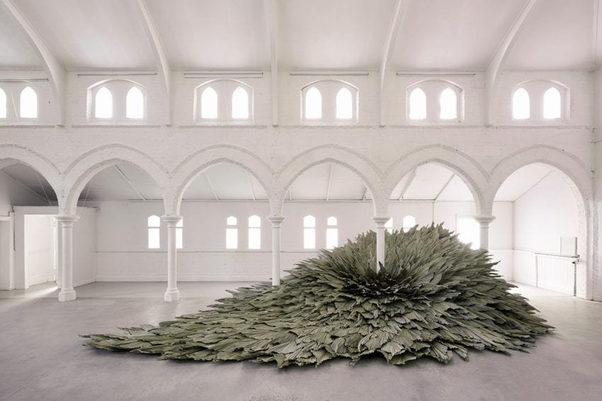 Proximity Botanical Installation By Wona Bae And Charlie Lawler Of Loose Leaf Yellowtrace