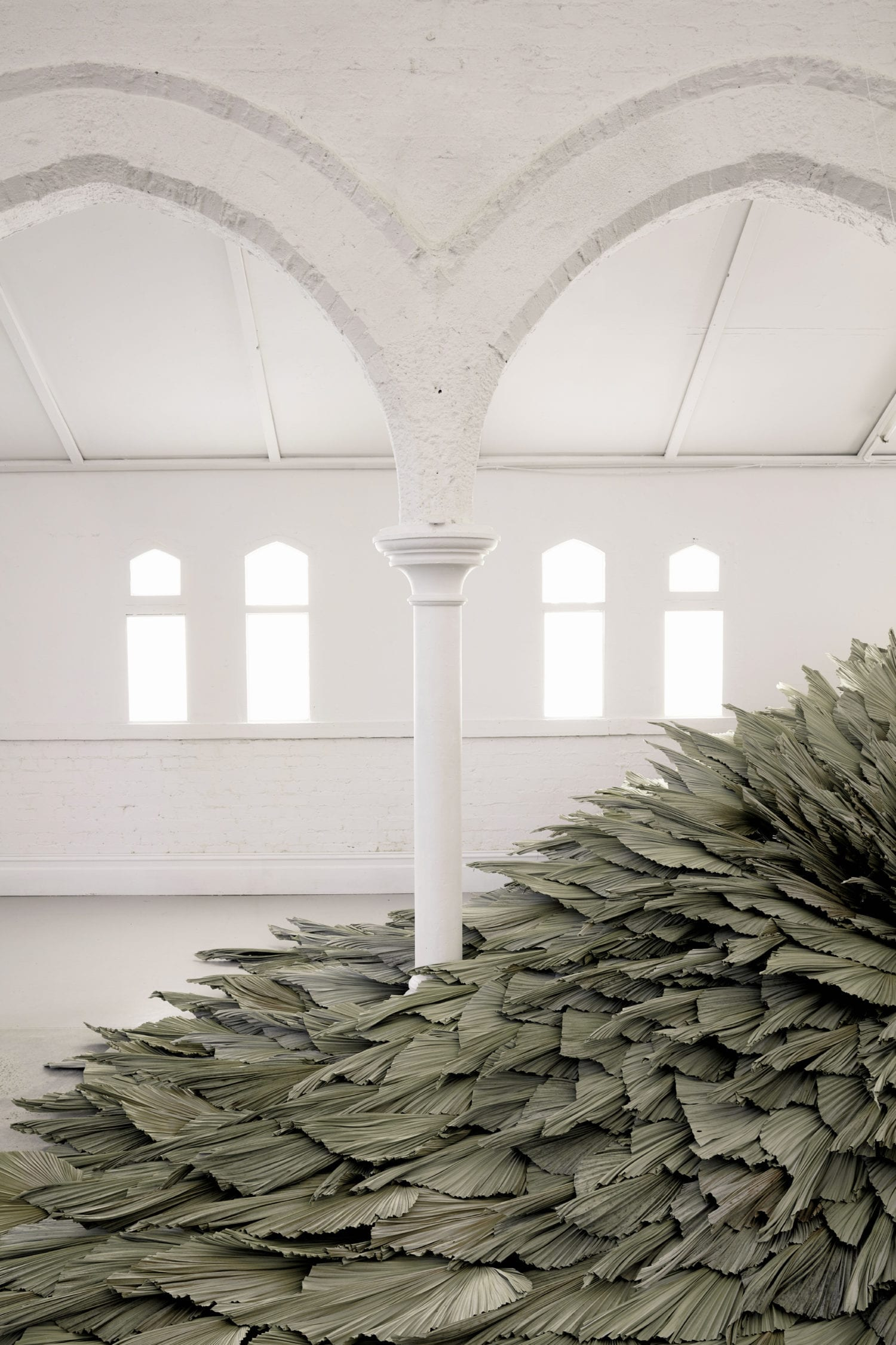 Proximity Botanical Installation by Wona Bae & Charlie Lawler of Loose Leaf   Yellowtrace
