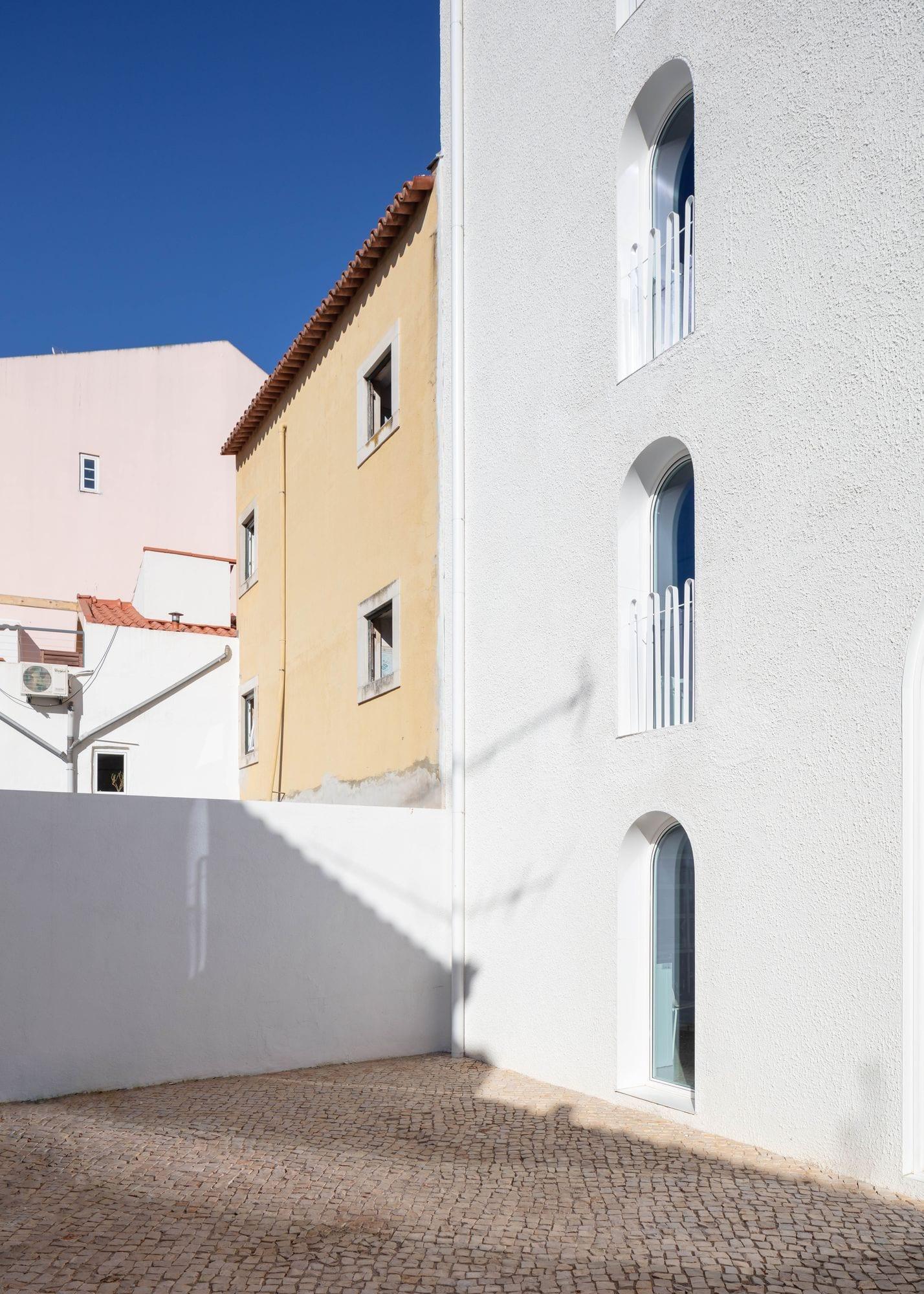 Dodged House In Lisbon By Leopold Banchini Daniel Zamarbide Yellowtrace 04