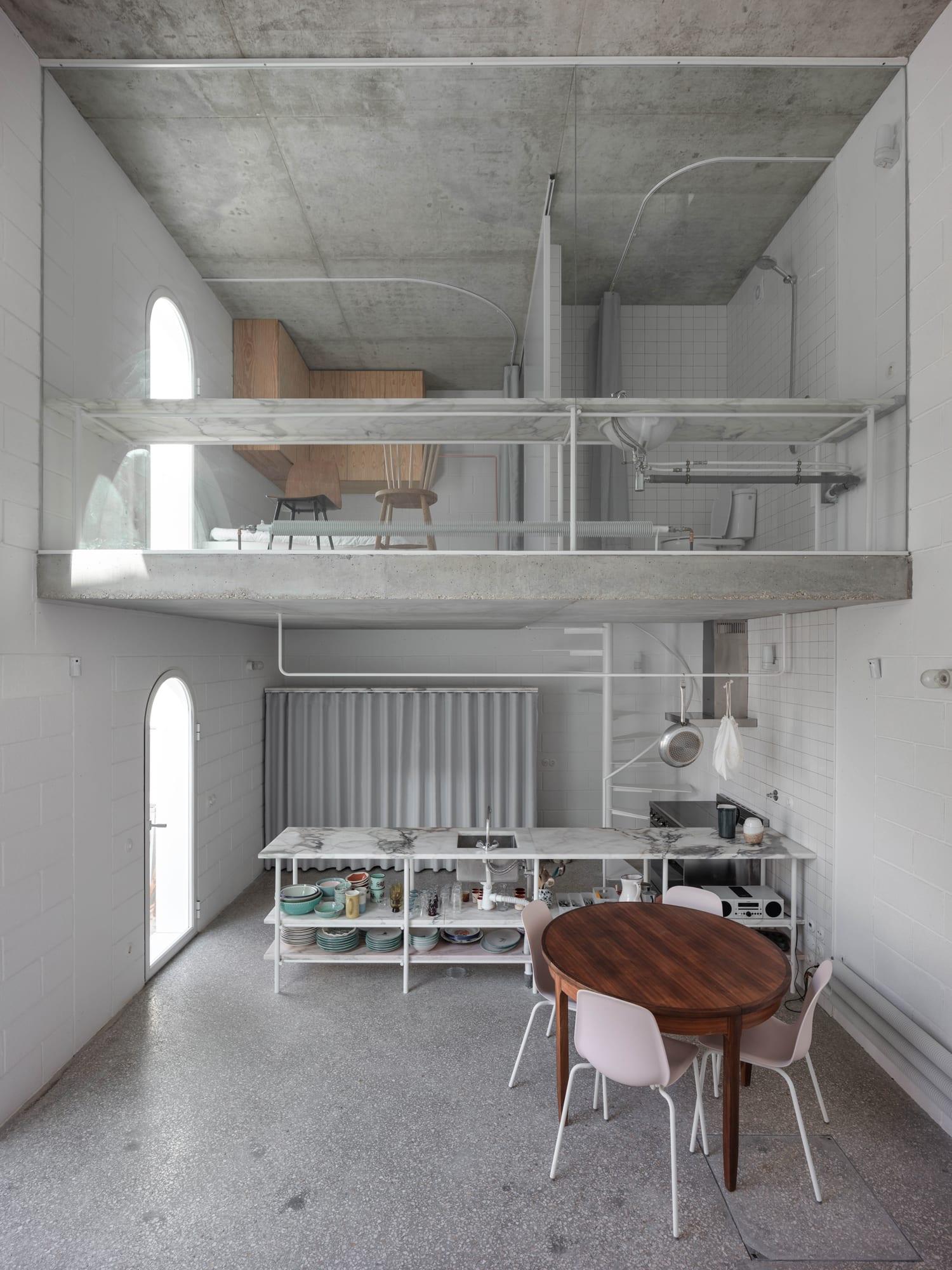 Dodged House In Lisbon By Leopold Banchini Daniel Zamarbide Yellowtrace 07