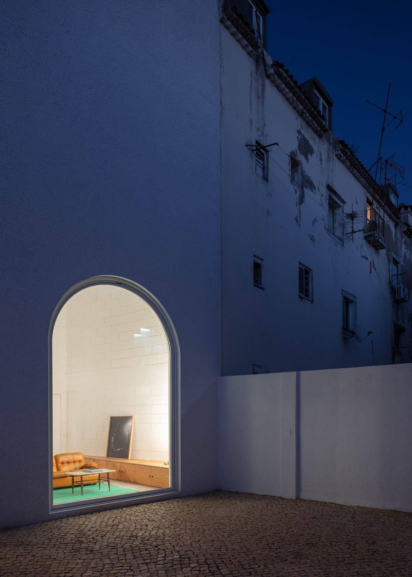 Dodged House In Lisbon By Leopold Banchini Daniel Zamarbide | Yellowtrace