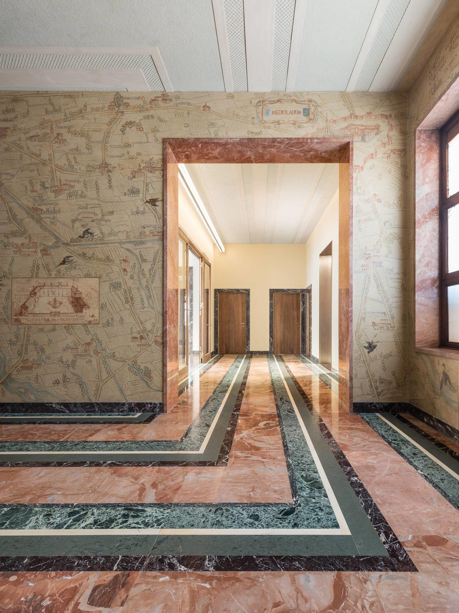 1930s Piero Portaluppi Milan Apartment Transformed Into Massimo De Carlo Gallery By Studio Binocle And Antonio Citterio Yellowtrace 02