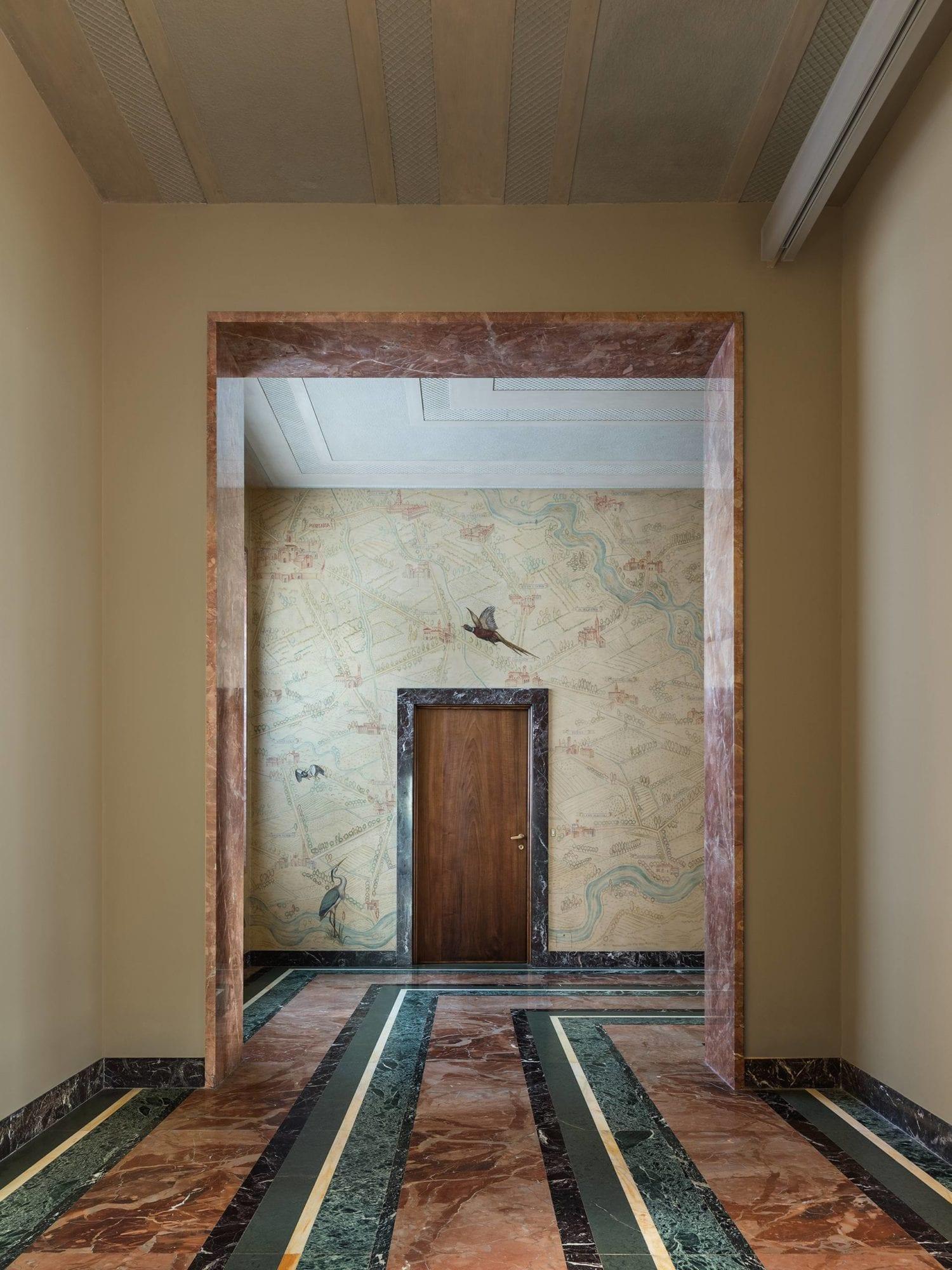 1930s Piero Portaluppi Milan Apartment Transformed Into Massimo De Carlo Gallery By Studio Binocle And Antonio Citterio Yellowtrace 03