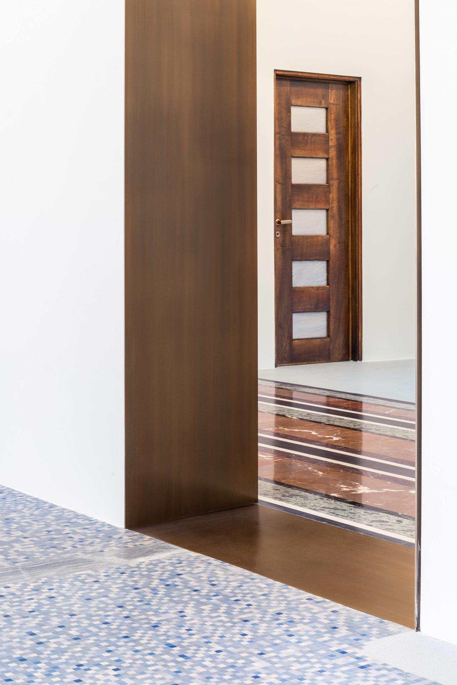 1930s Piero Portaluppi Milan Apartment Transformed Into Massimo De Carlo Gallery By Studio Binocle And Antonio Citterio Yellowtrace 14
