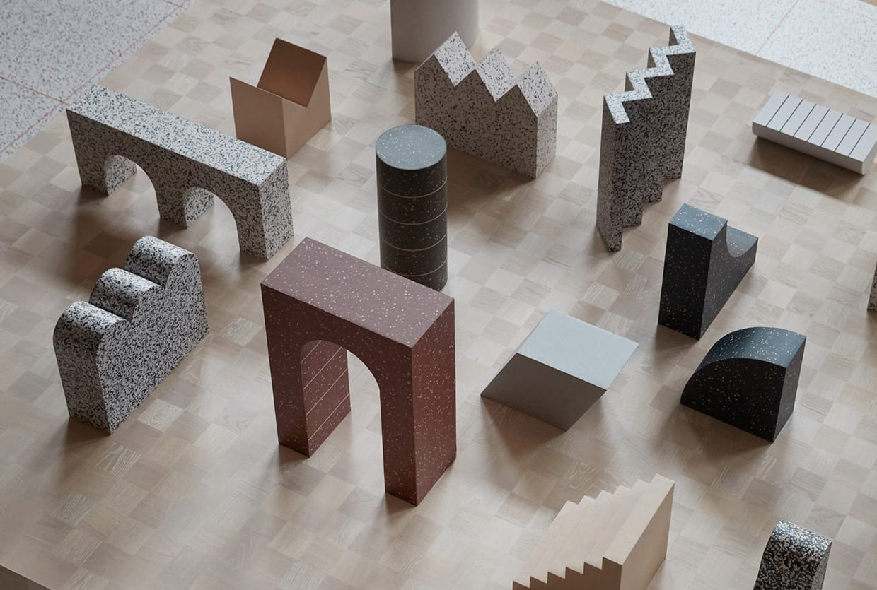 Formations By Note Design Studio For Tarkett Milan Design Week 2019 Yellowtrace