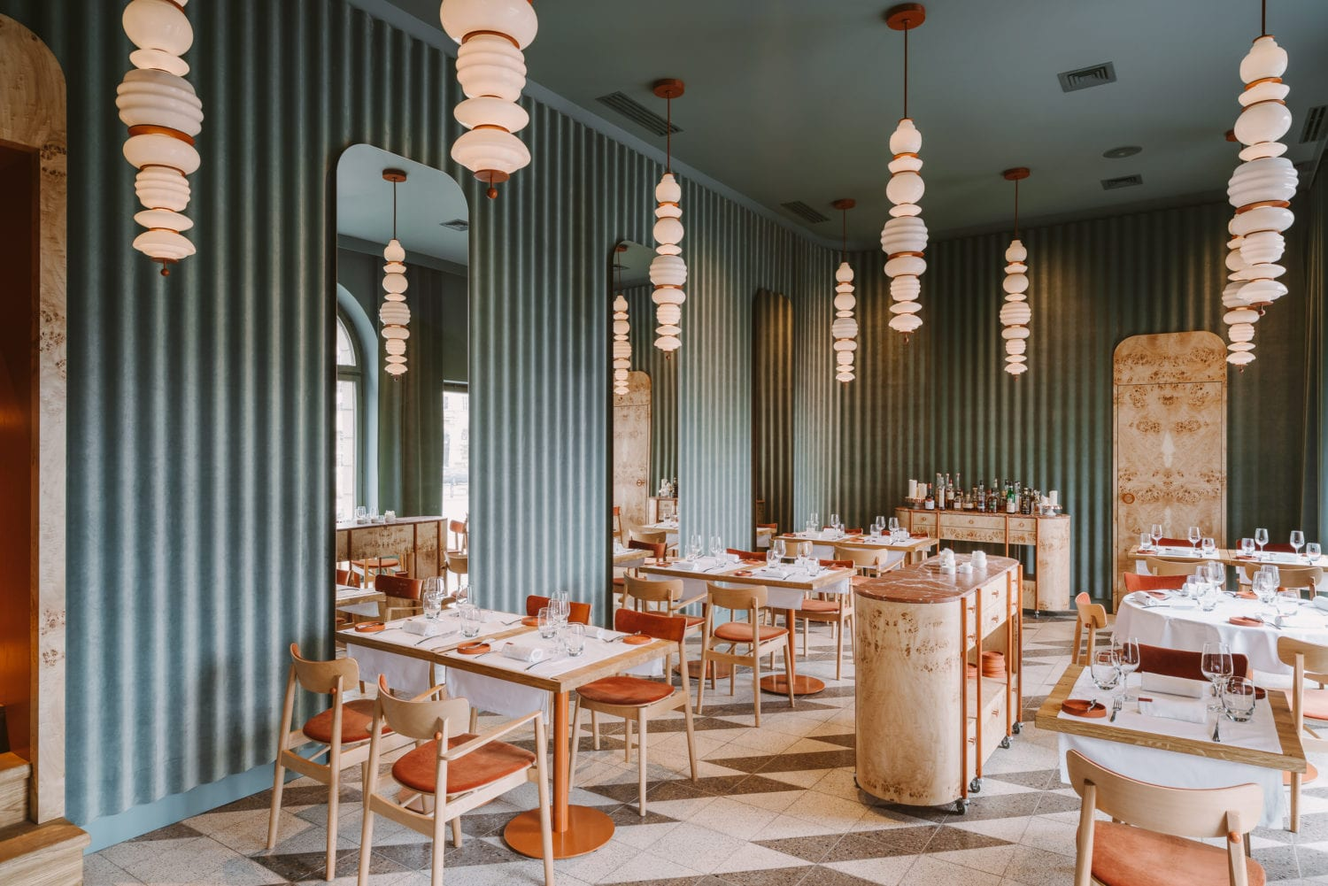 Opasly Tom Restaurant In Warsaw Poland By Buck Studio Yellowtrace 04