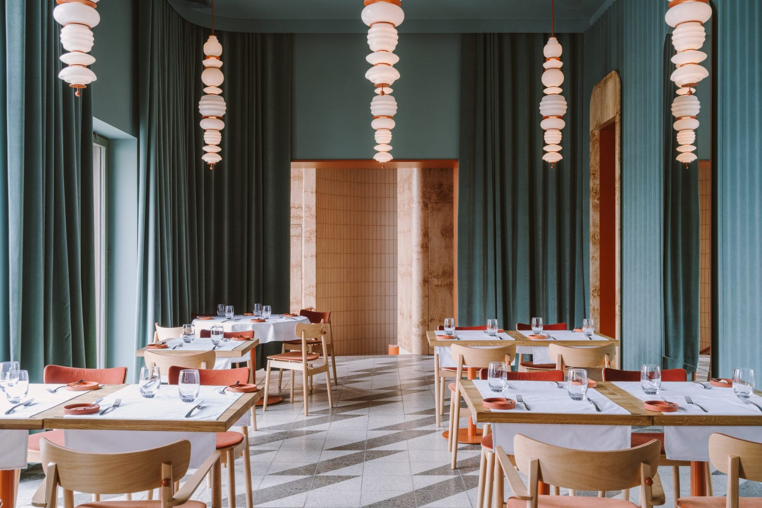 Opasly Tom Restaurant In Warsaw Poland By Buck Studio Yellowtrace 05