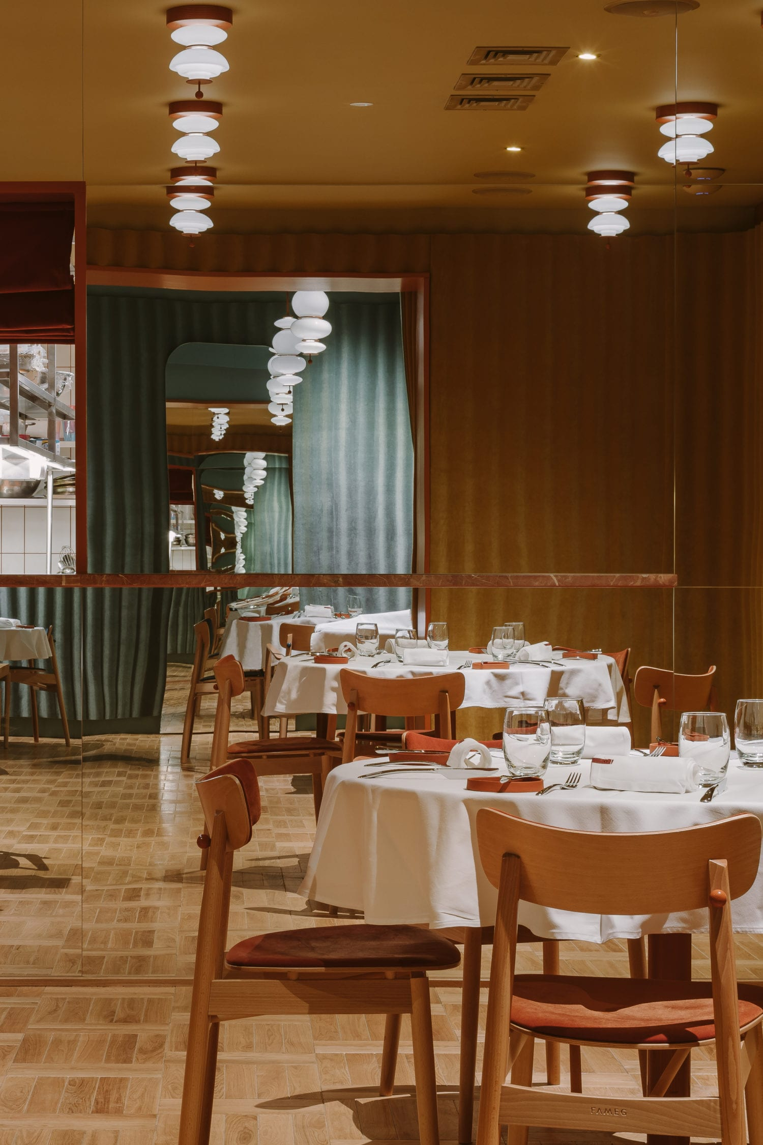 Opasly Tom Restaurant In Warsaw Poland By Buck Studio Yellowtrace 23