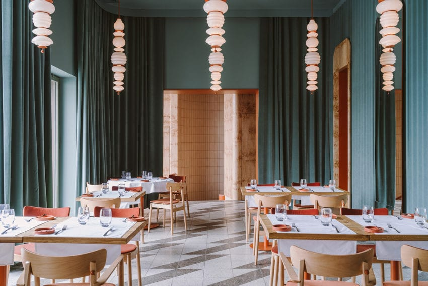 Opasly Tom Restaurant In Warsaw Poland By Buck Studio Yellowtrace