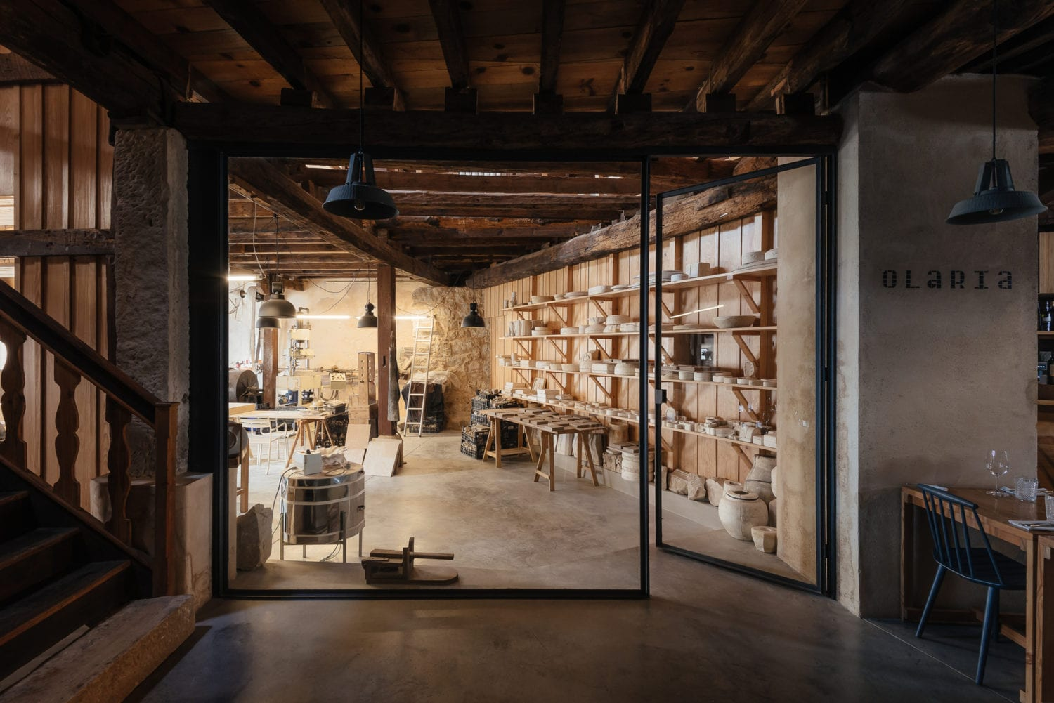 Luisa Bebiano And Atelier Do Corvo Renovation Old Ceramic Society Of Coimbra 18th Century Building Yellowtrace 05