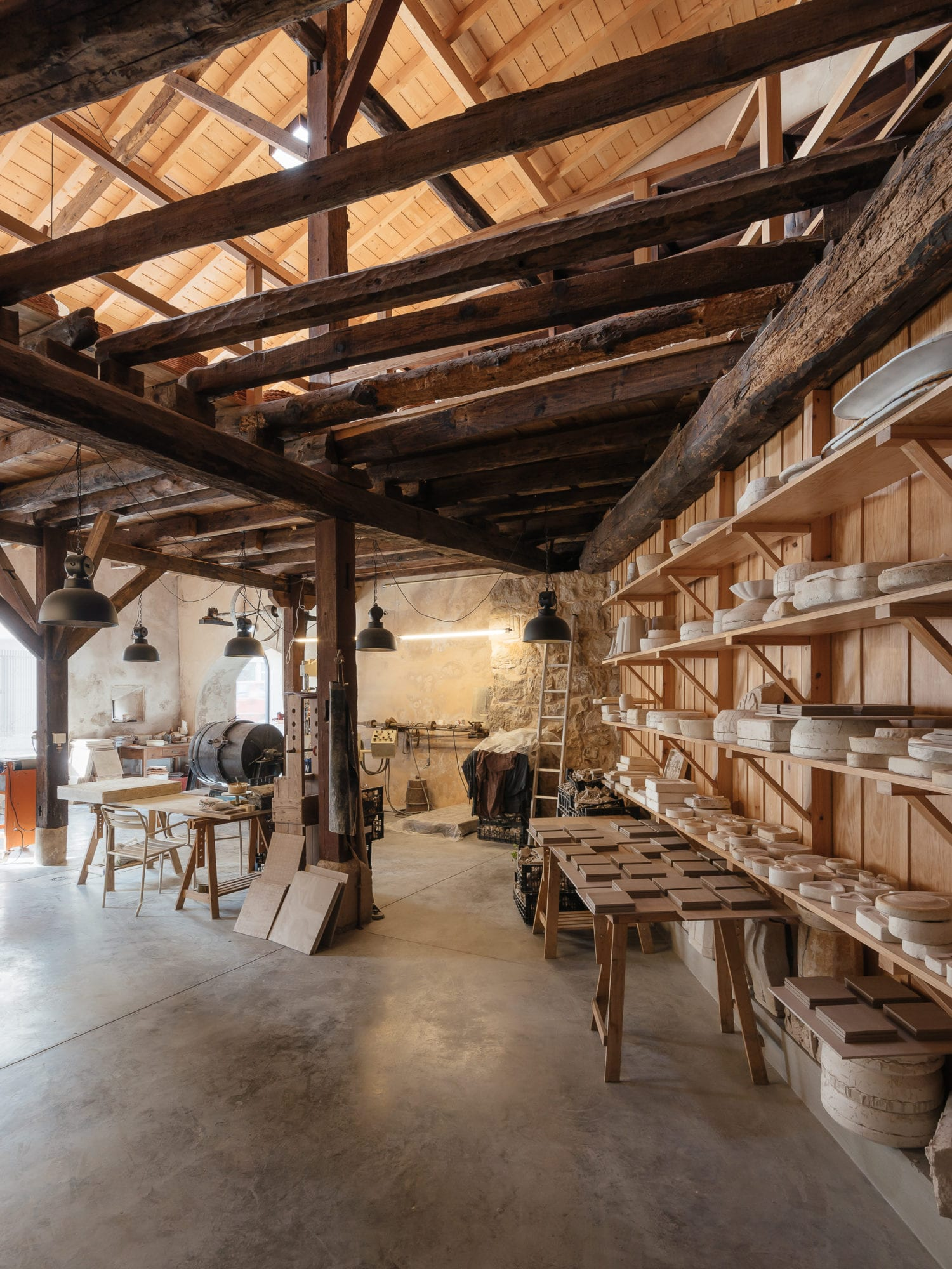 Luisa Bebiano And Atelier Do Corvo Renovation Old Ceramic Society Of Coimbra 18th Century Building Yellowtrace 06