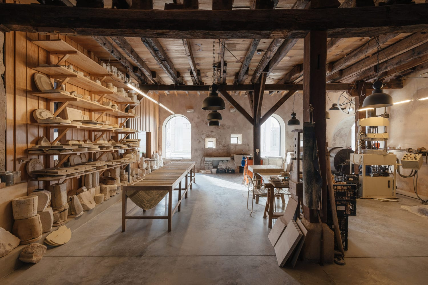 Luisa Bebiano And Atelier Do Corvo Renovation Old Ceramic Society Of Coimbra 18th Century Building Yellowtrace 09