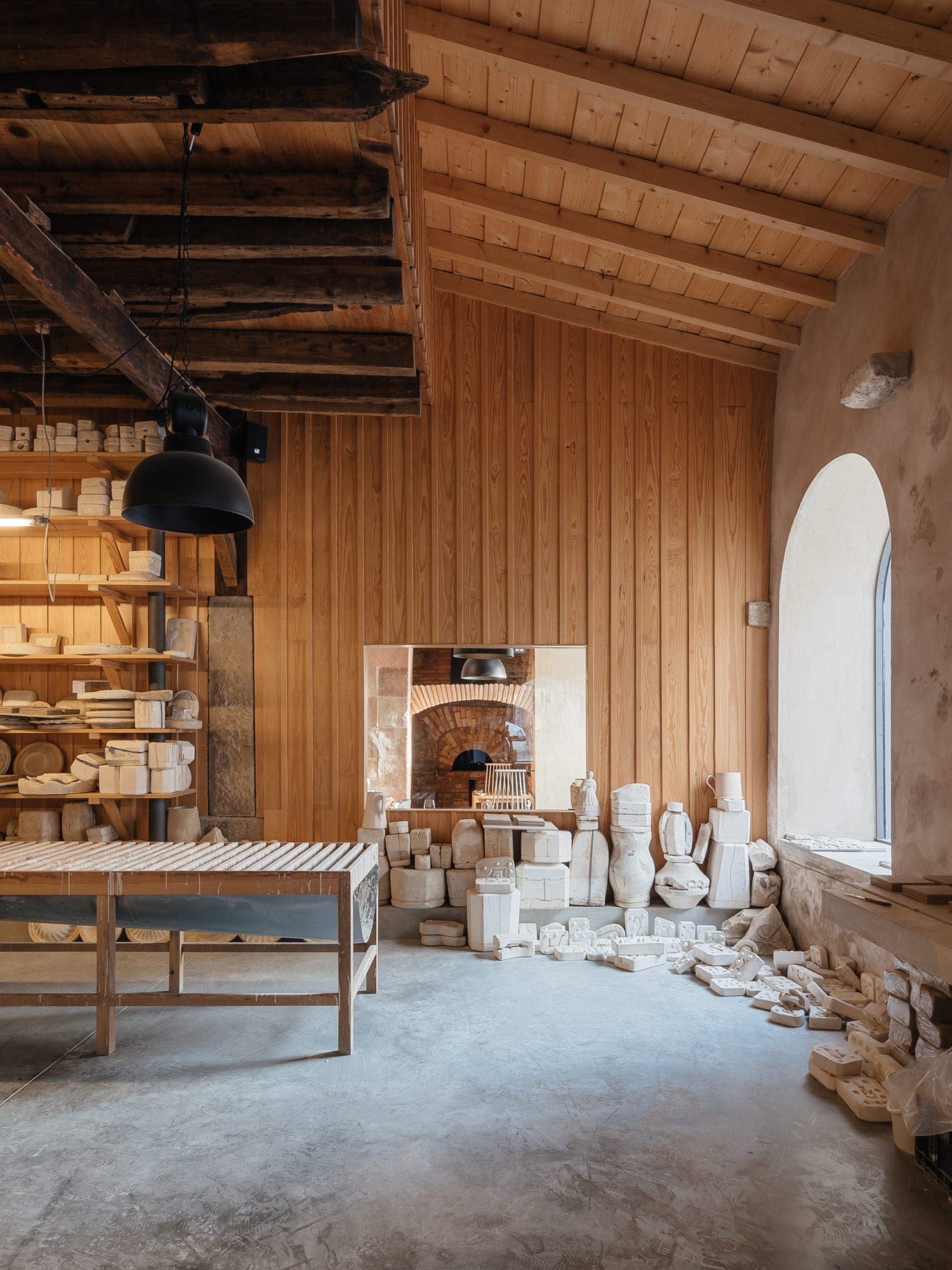 Luisa Bebiano And Atelier Do Corvo Renovation Old Ceramic Society Of Coimbra 18th Century Building Yellowtrace 11