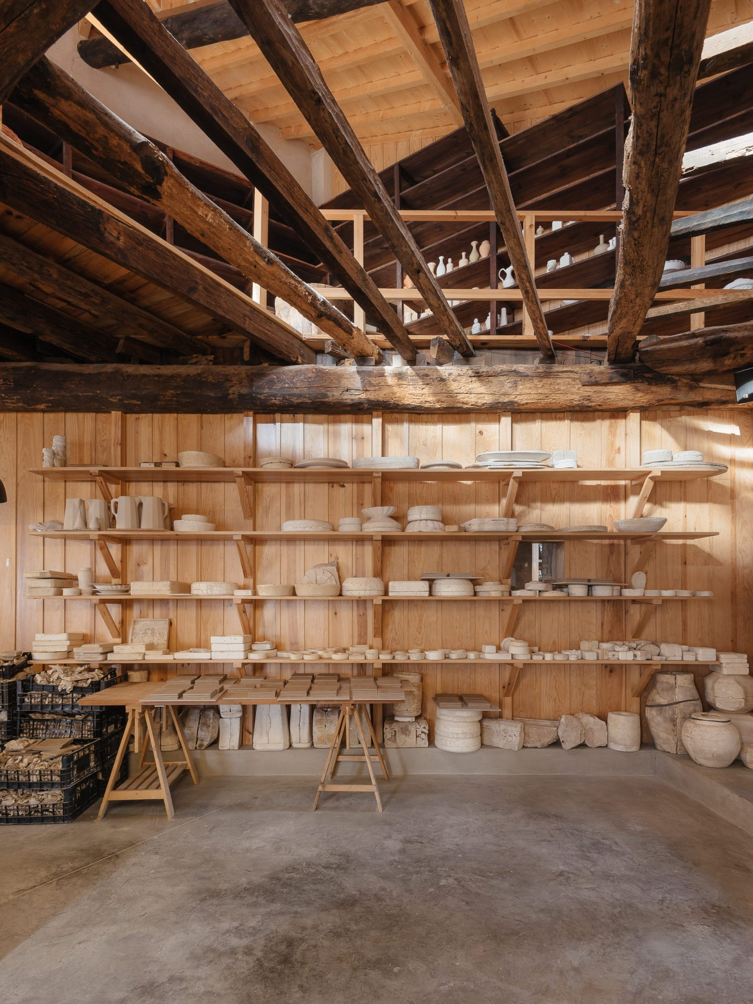 Luisa Bebiano And Atelier Do Corvo Renovation Old Ceramic Society Of Coimbra 18th Century Building Yellowtrace 12